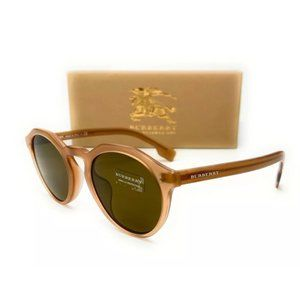 Burberry Men's Matte Brown Sunglasses!